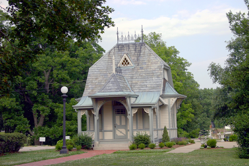Lucy Haskell's playhouse