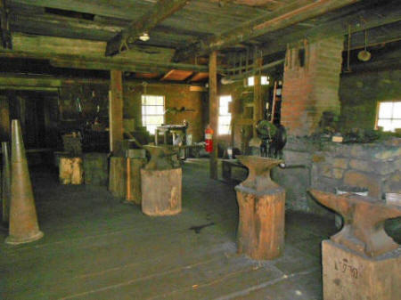 Blacksmith's shop  at Landis Valley Village and Farm Museum located near Lancaste