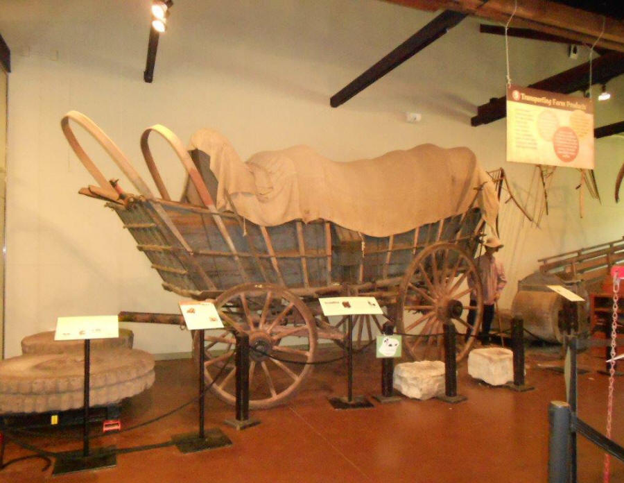 Conestoga Wagon at Landis Valley Village and Farm Museum located near Lancaste