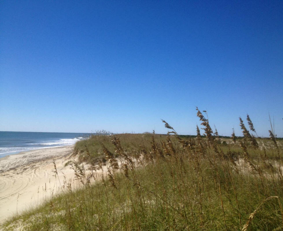 Pristine beaches in North Carolina's Outer Banks