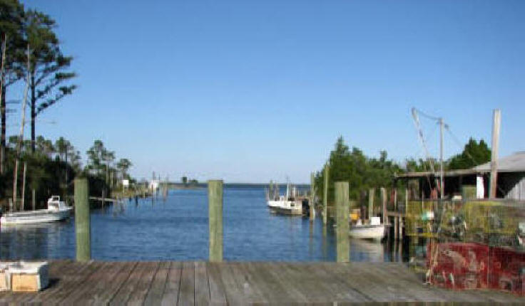 Down East fishing dock photo from Fish House Opera