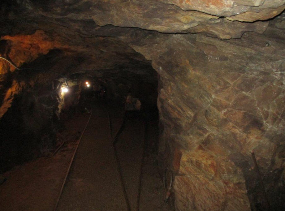 Consolidated mine tunnel in Dahlonega, GA