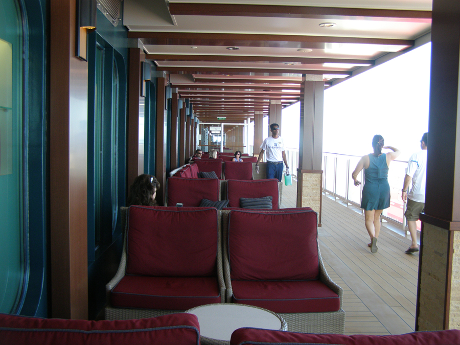 The Boardwalk on Norwegian Escape