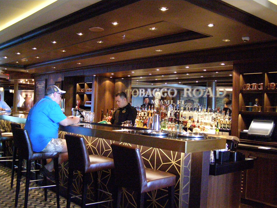 Tobacco Road Bar on  Norwegian Escape