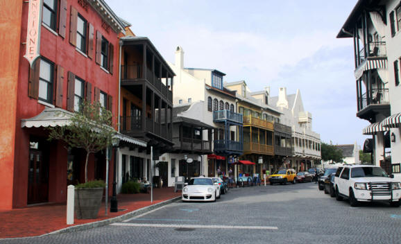 Main Street at Rosemary Beach