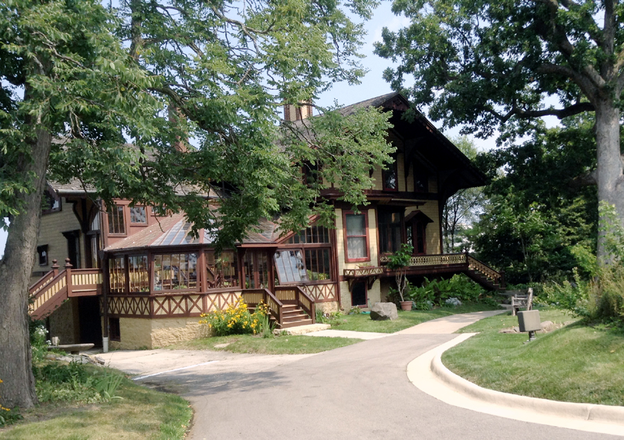 Tinker Swiss Cottage in Rockford, Illinois