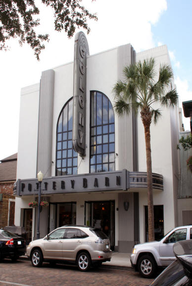 Colony Theater in downtown Winter Park, Florida