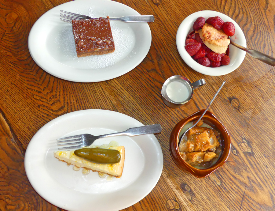Desserts at                                       Perini Ranch Steakhouse