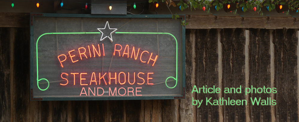 Perini                                 Ranch Steakhouse sign