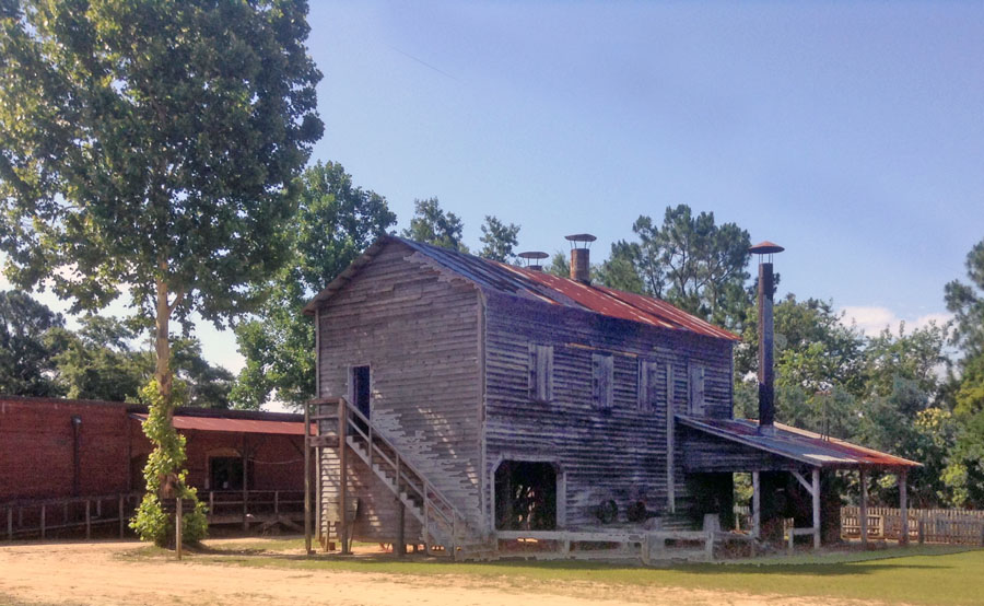 The old davis gristmill at Georgia Agrirama