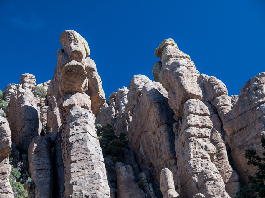hoodoos in Willcox Arizona