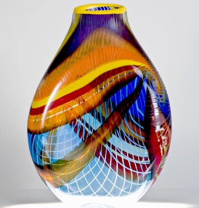 glass work by Keeper Nott, Anchorage, AK