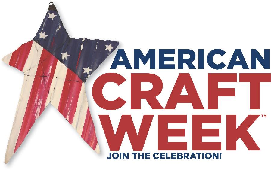 American Craft Week sign