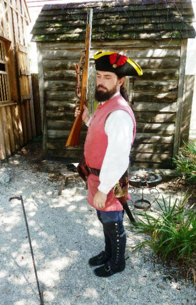 Docent at  Spanish Quarter in St. Augustine, FL