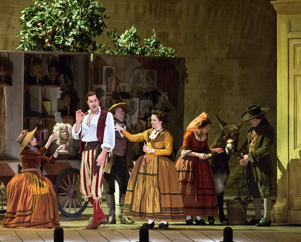 Scene from The Barber of Seville