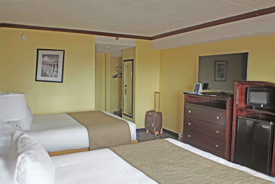 Room with two double beds at Barrymore Hotel in Tampa