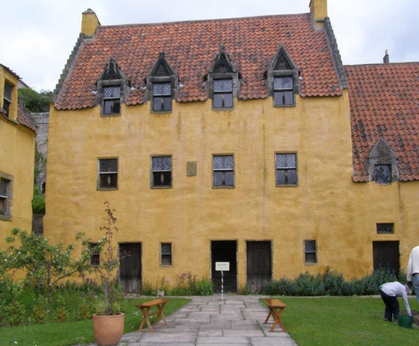 Culross Palace in Edinburgh