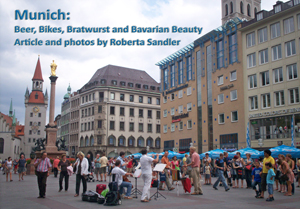 Downtown Munich  used as header photo