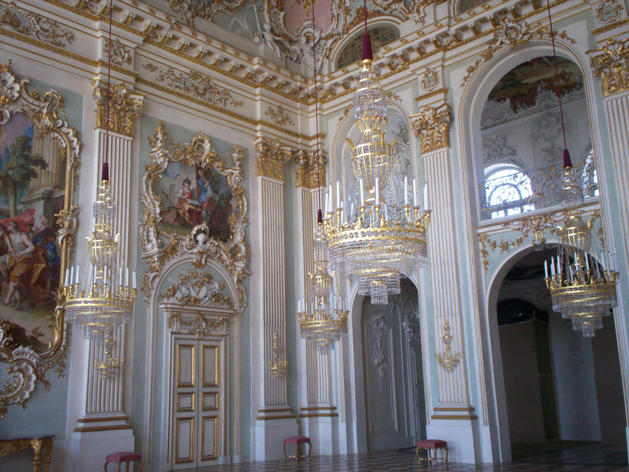 A room in Mymphenburg Palace in  munich