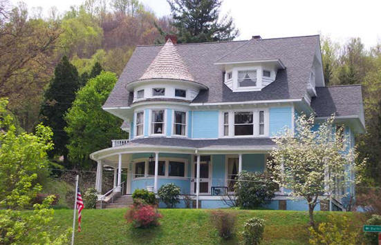 Goodwill House in Branwell, WV.