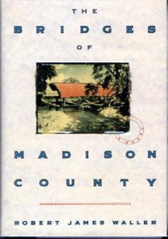 Bridges of Madison County book cover