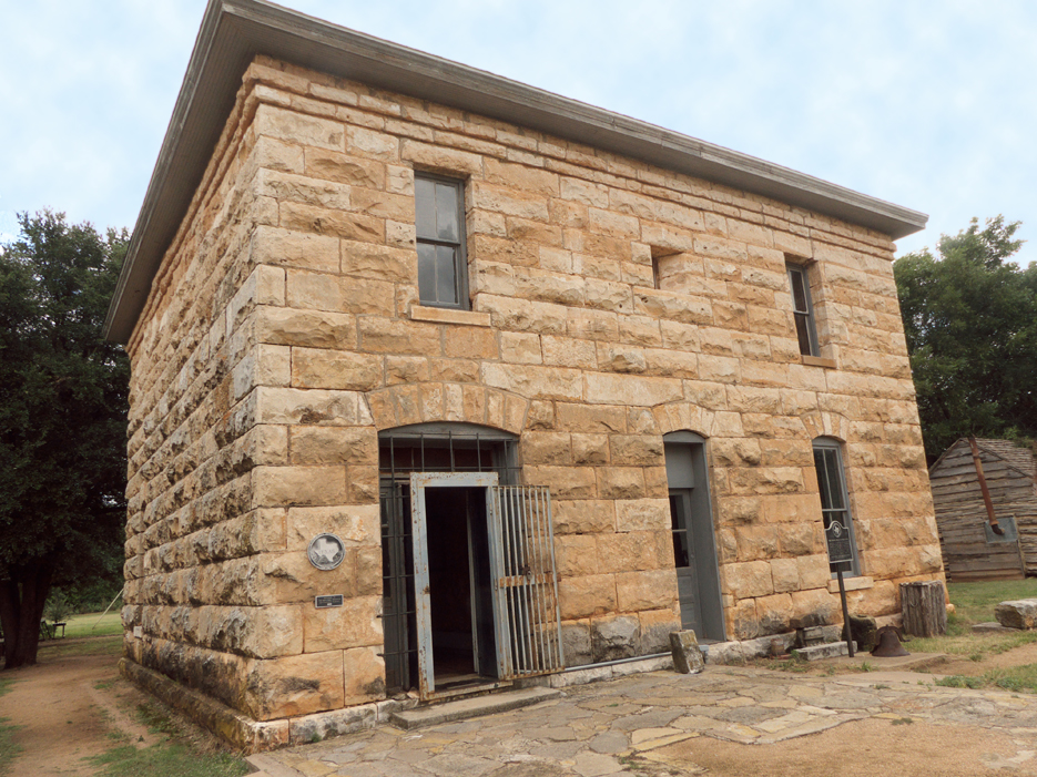 Buffalo Gap Village's 1883 Courthouse and Jail