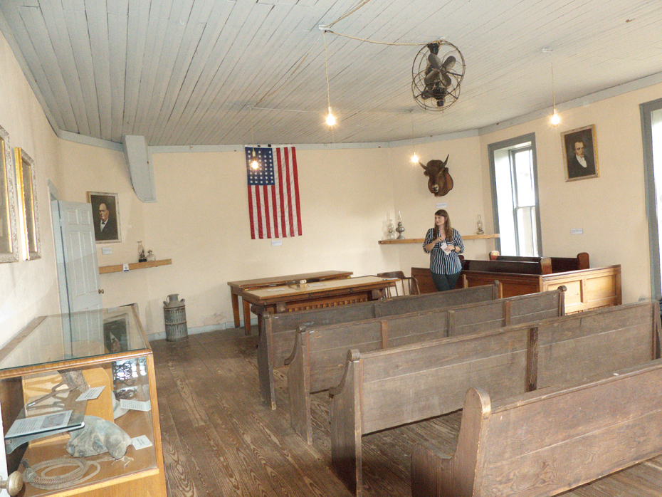Buffalo Gap Village's 1883 Courthouse and Jail interior