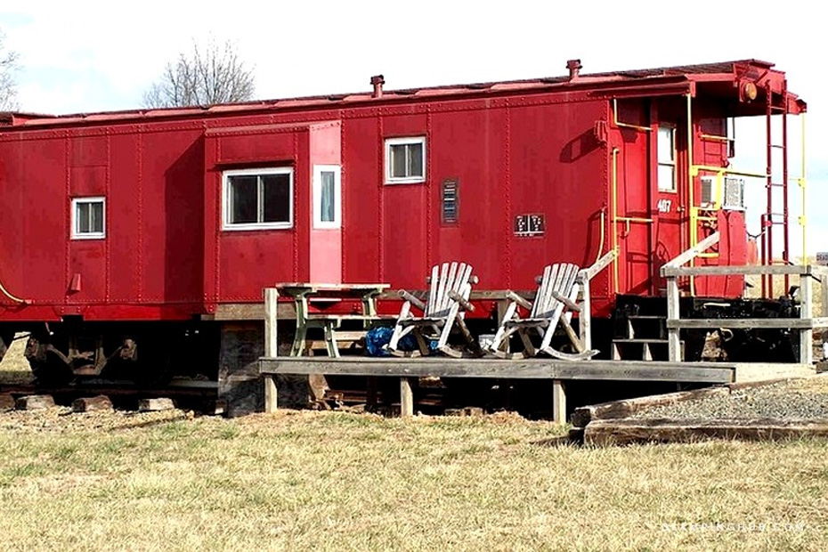 caboose turned to lodging