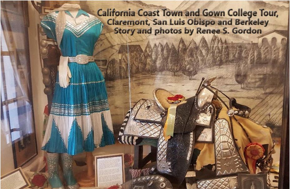 Historic fiesta outfit and ornate saddle