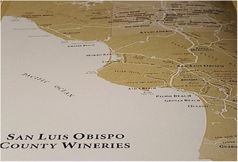 LO Wineries map
