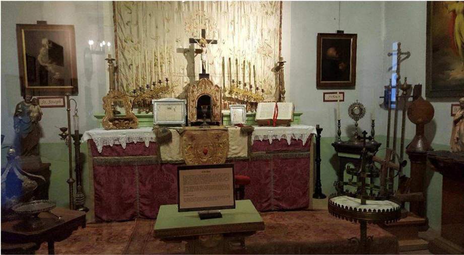SLO Mission altar