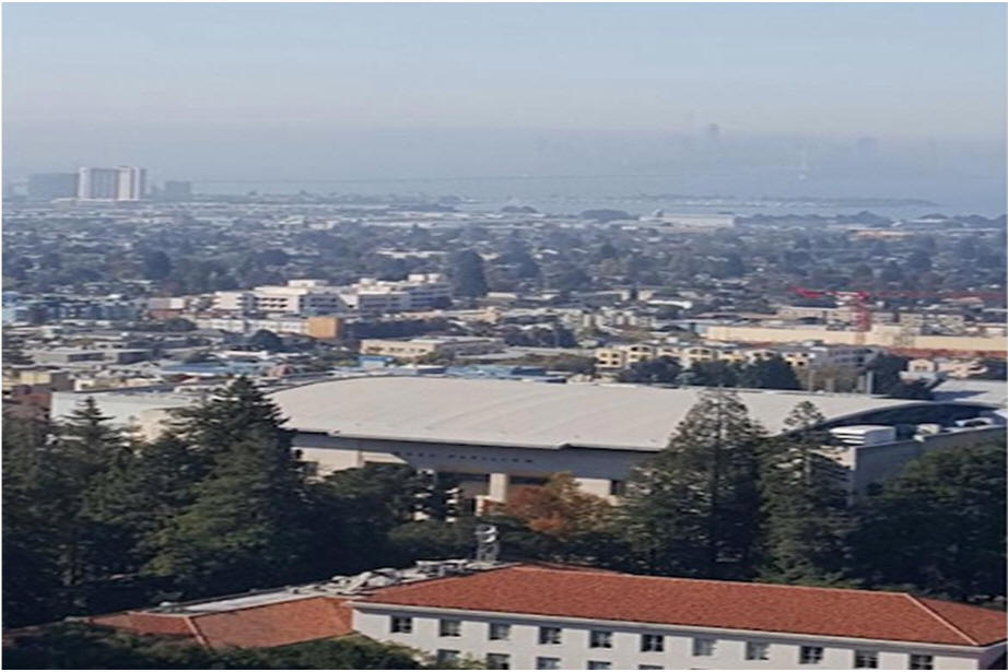 Berkeley view from bell tower
