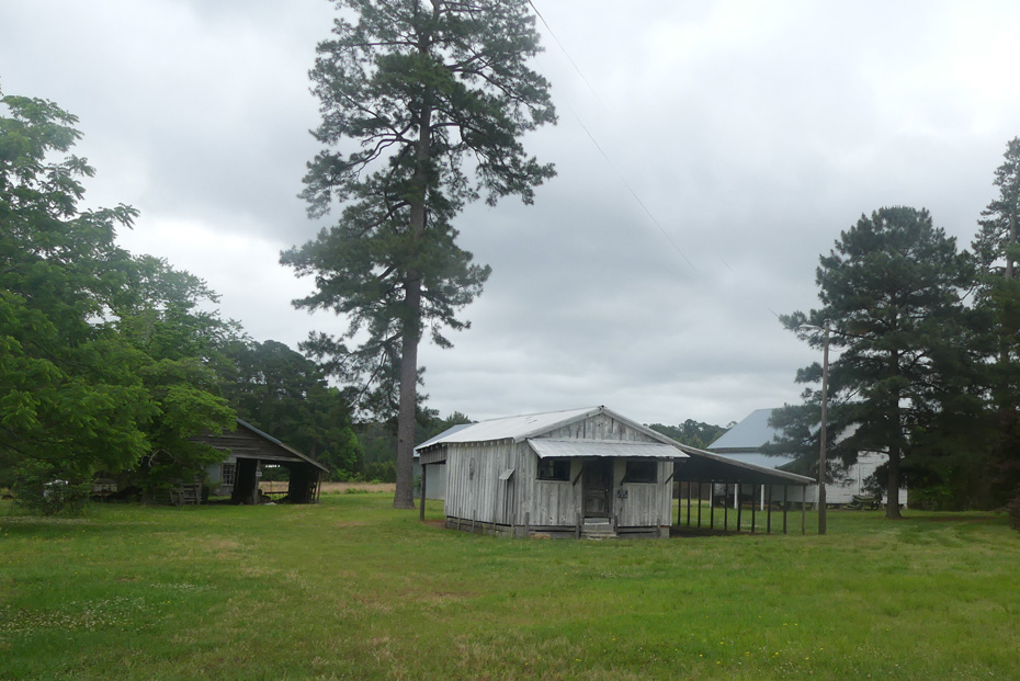 outside view of Commissary at Carvers Creek State Park