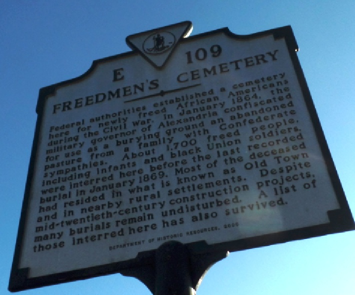 Freedmen's Cemetery at Alexandria, Virginia