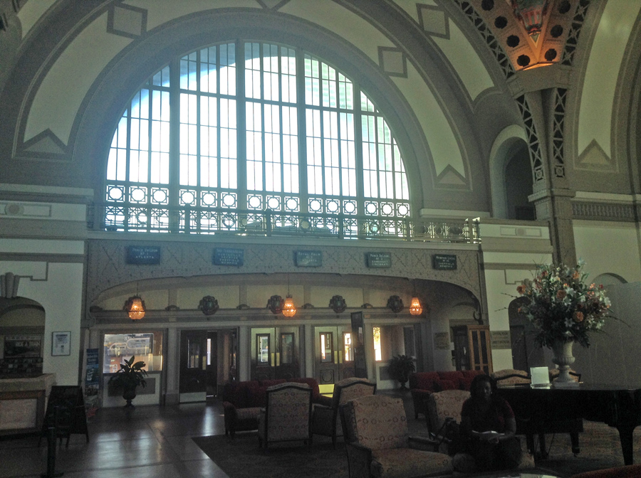 Lobby at Chattanooga Choo Choo