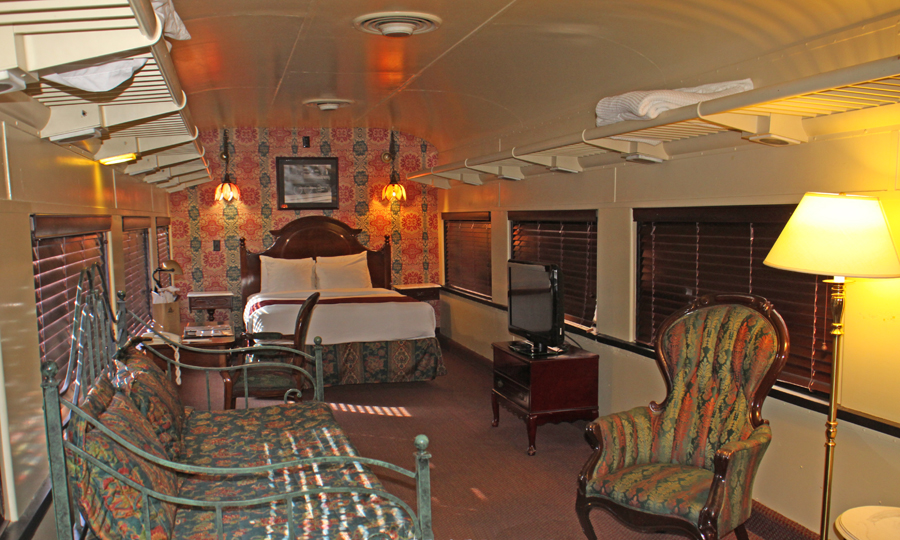 furnished railcar atr Chattanooga Choo Choo