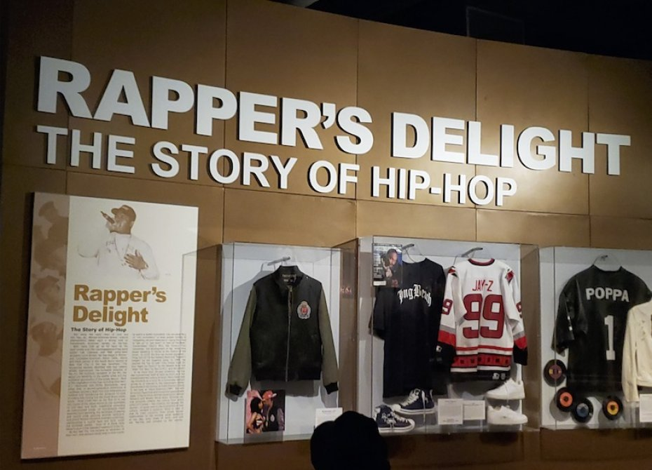 Rapper's exhibit at Cleveland Rock and Roll Hall of Fame