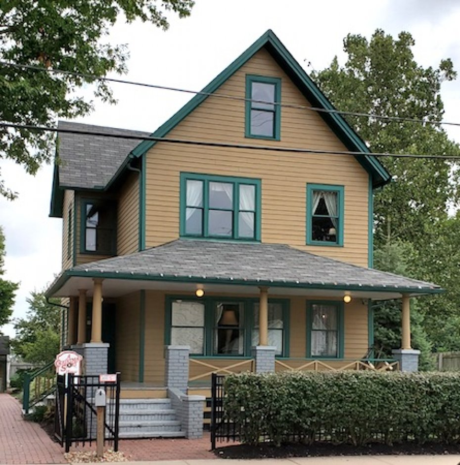 "from movie, ""A Christmas Story"", Ralphie Parker residence"