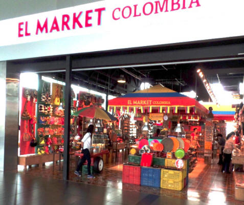 market in Colombia