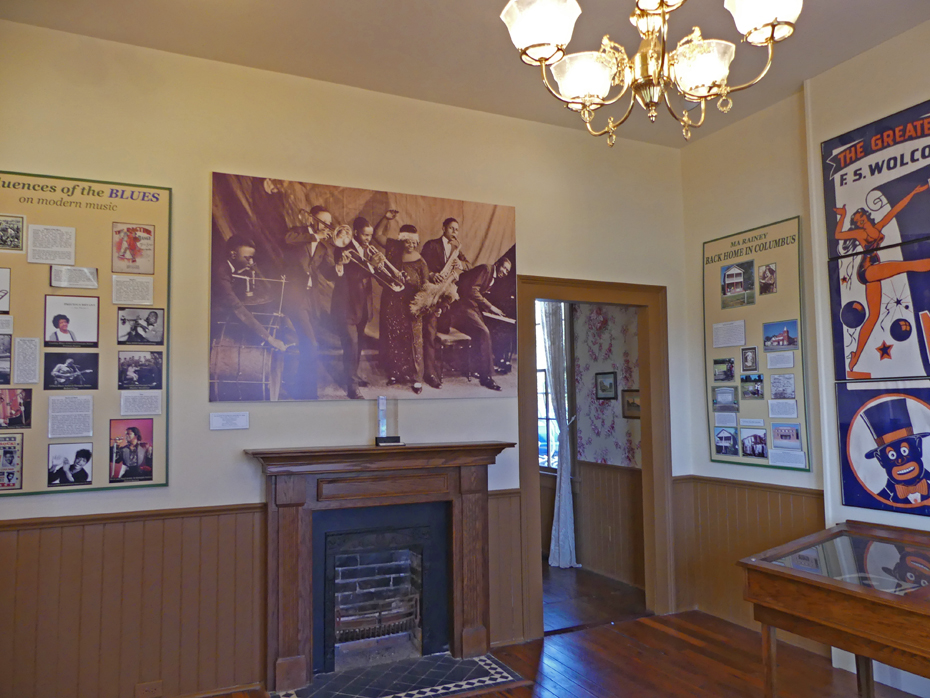 Living room in Ma rainey's house museum