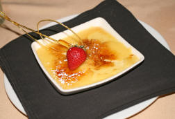 Creme Brulee at Tic Toc Room in Macon, GA