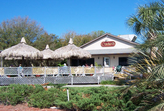 Crackers Bar and grill on Kings Bay at Crystal River Florida