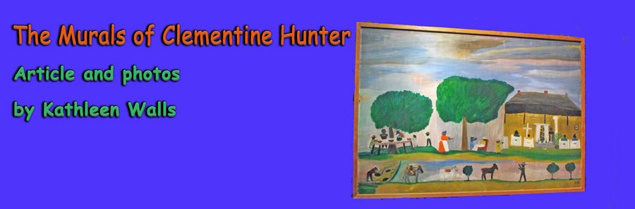 Paintings by Clementine Hunter at Northwest Louisiana History Museum