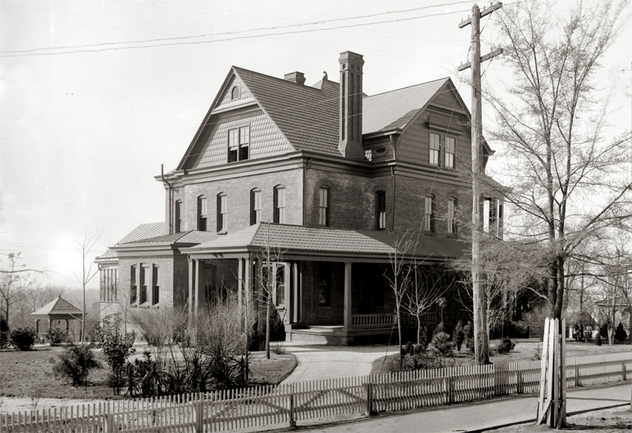 Booker T Washington's home, the Oaks in Tuskeegee