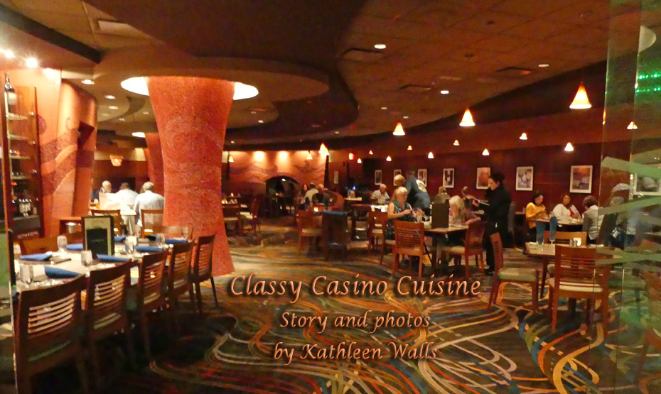casino restaurant with people sitting at tables