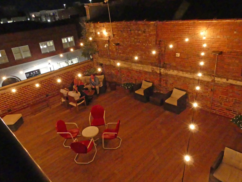 Despensary rooftop bar in Florence NC