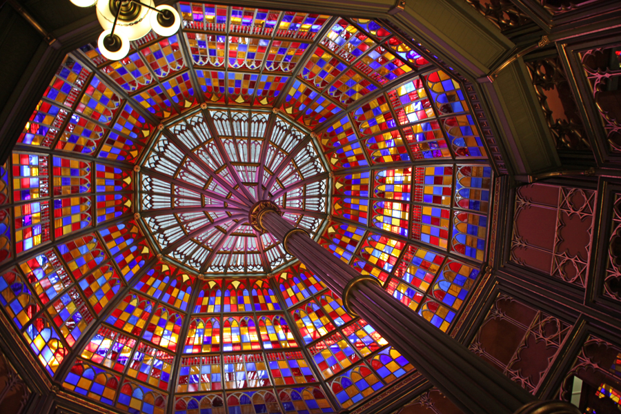 Dome in Louisiana's old capitol in Baton rouge
