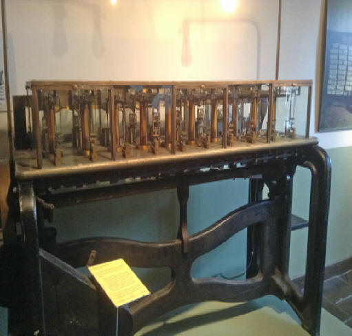 machinery used to make money for both the U.S. and the Confederacy at the Old Mint in New Orleans