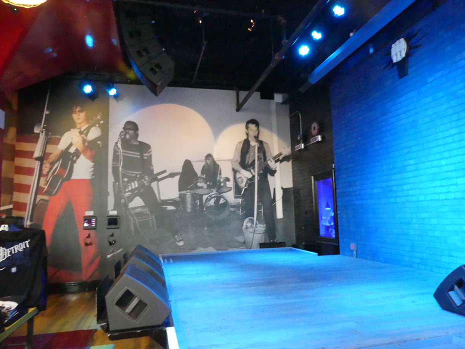 Stage at Third Man Records
