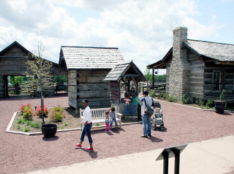 Pioneer Village at Discovery Park  In Union City, Tennessee